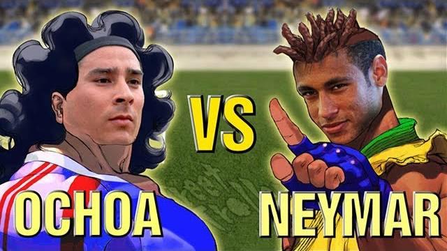 ochoa-neymar